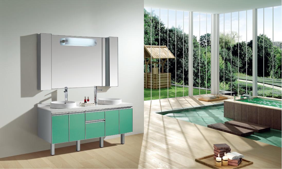 Limpiar Baño Amarillo:de cuarto de baño de lujo grande (S160S) – Gabinete de cuarto de