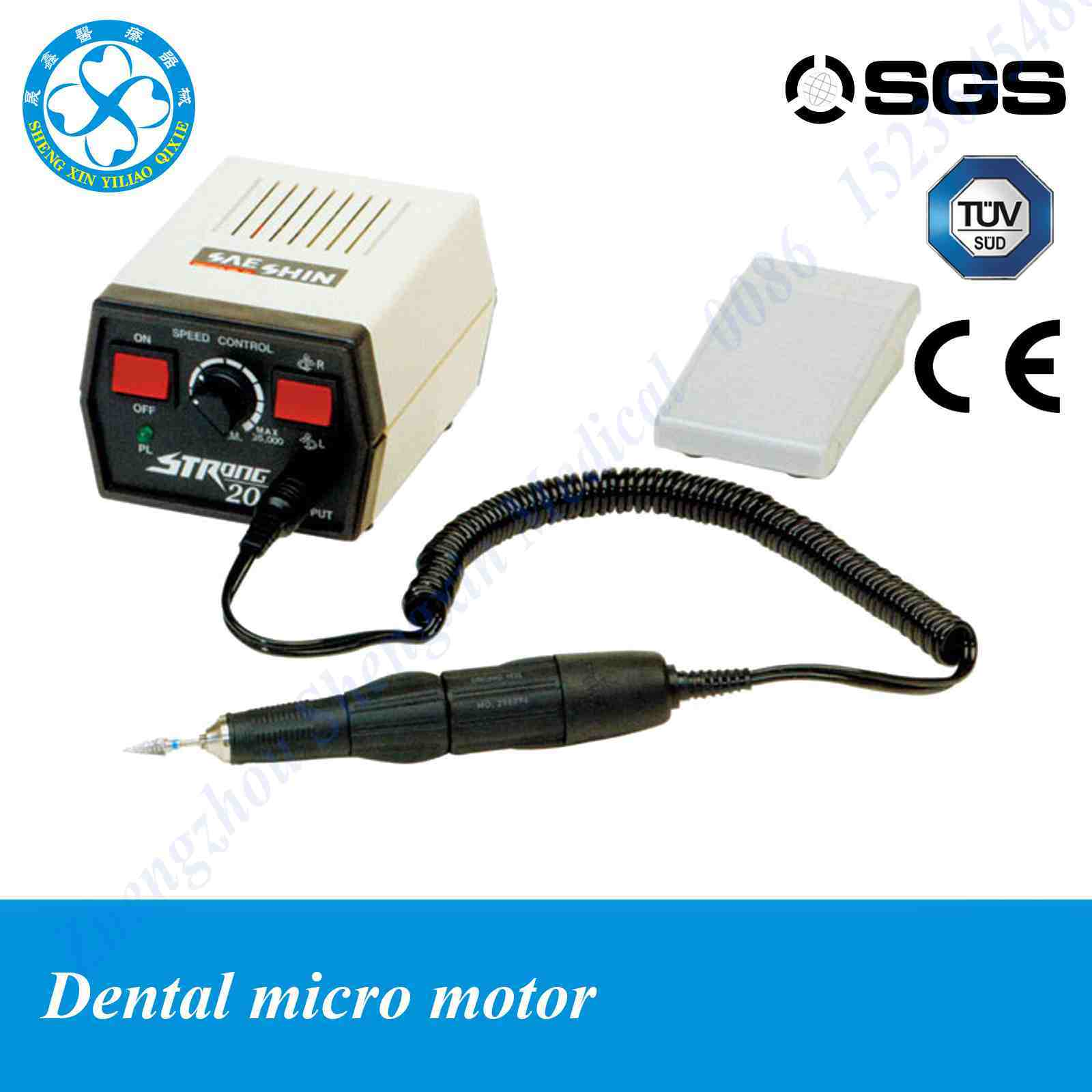Handpiece 35000rpm strong 204 dental micromotor for Micro motor handpiece dental