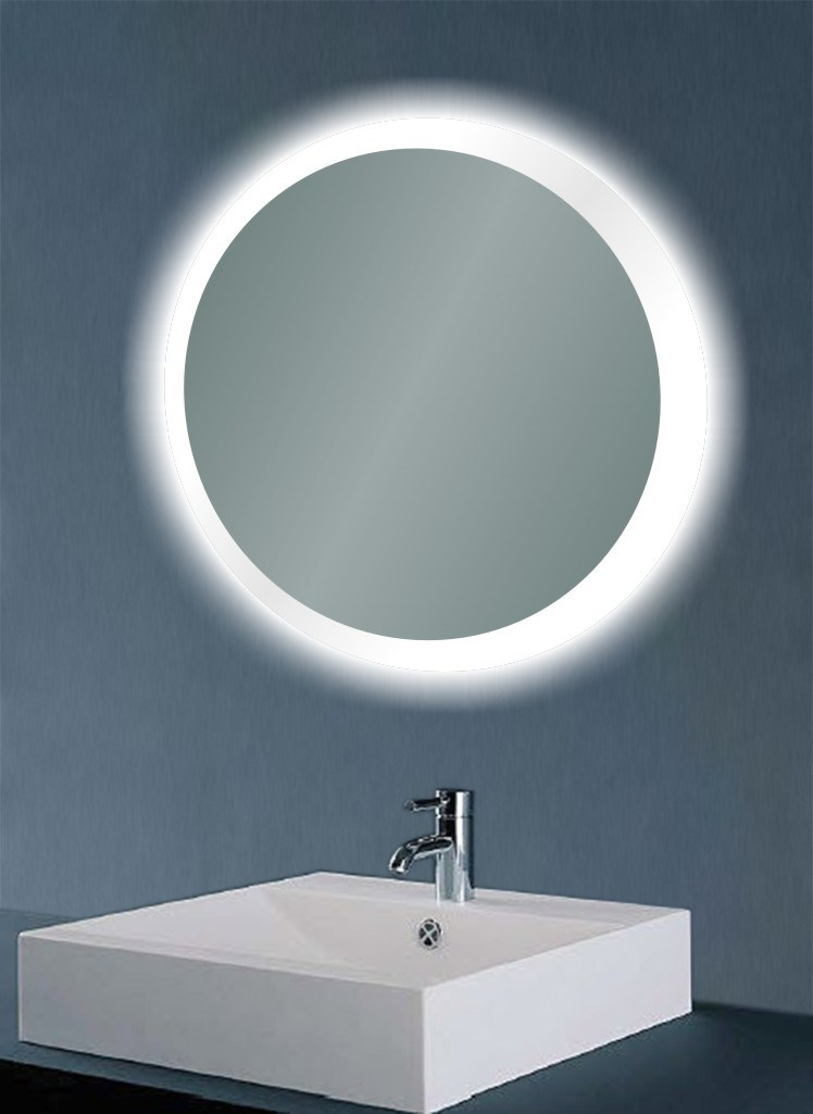 Miroirs de led lumineux par ip44 avec la sonde swith for Miroir in english