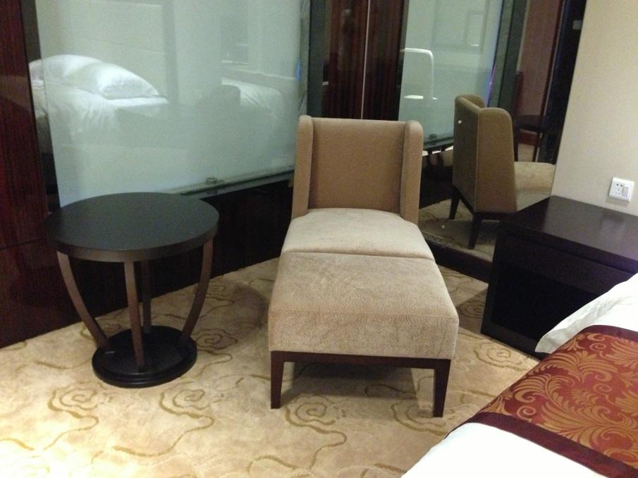 Mobilia di legno cinese di lusso kingsize della camera da letto ...