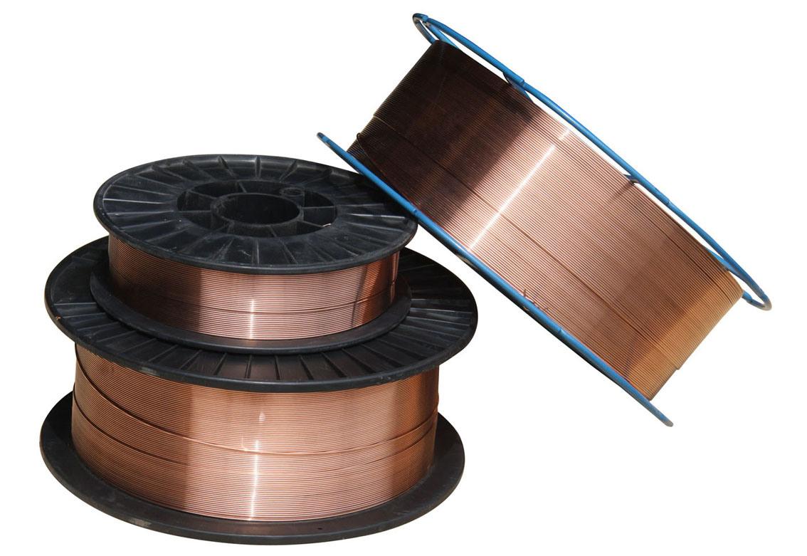 Cobre recubierto de co2 alambre de soldadura aws - Alambre de cobre ...
