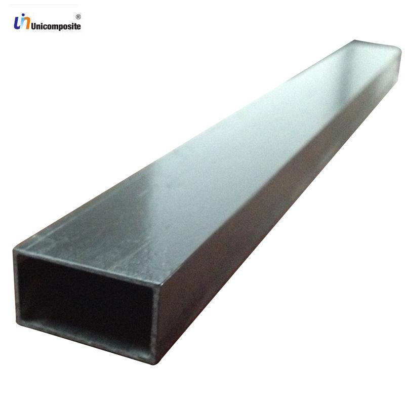 Tubo rectangular de la fibra del carb n de pultruded - Tubos fibra de vidrio ...