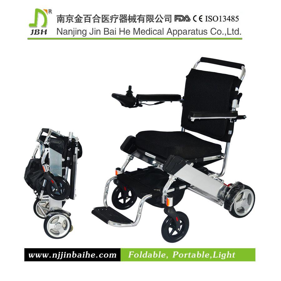 fauteuil roulant lectrique pliable en aluminium l ger de taille standard photo sur fr made in. Black Bedroom Furniture Sets. Home Design Ideas