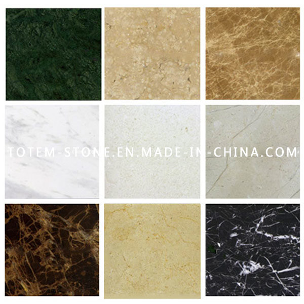 Naturel poli marbre blanc rev tement de sol stone for Carrelage marbre granit