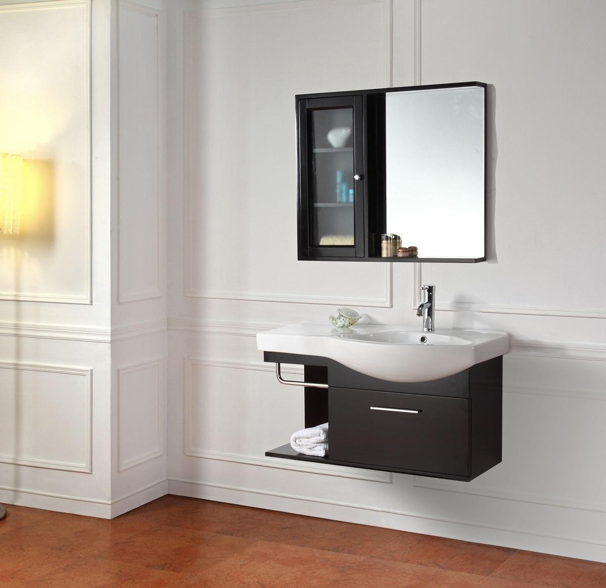 Gabinete para bano en madera - Muebles para banos pequenos modernos ...