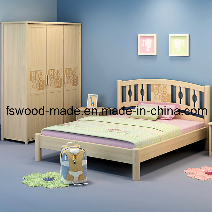 Chambre coucher en bois d 39 enfants 07021 chambre for Chambre a coucher enfant