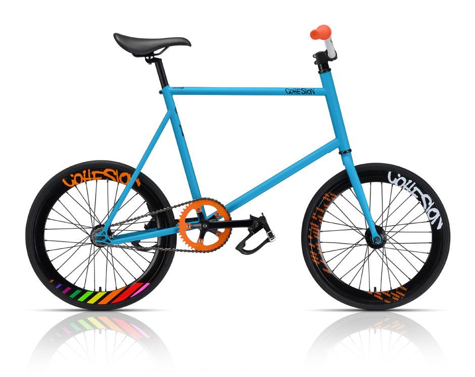 20 pulgadas de azul fijan la bicicleta del engranaje 20 - La bici azul ...