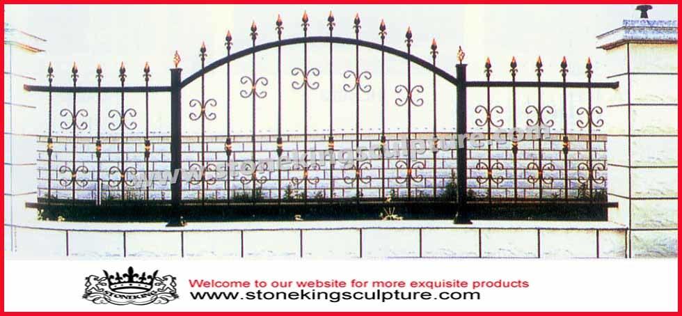 Cercas de hierro cercas hierro forjado decorativo - Cercas de hierro ...