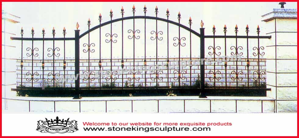 cerca de jardim ferro:Cerca do ferro feito, cerca do jardim, cerca de aço –Cerca do ferro