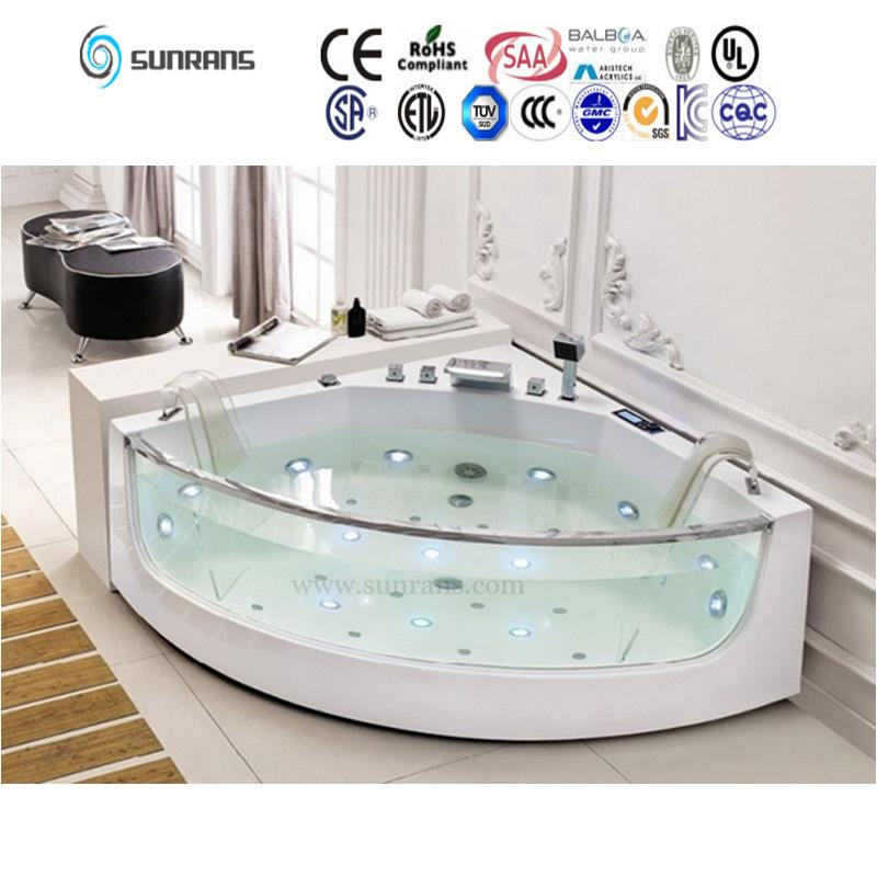 Mini freistehende aufblasbare flache glasbadewanne sf5b011 foto auf demade ligbad deutsch - Badkuip ontwerp ...