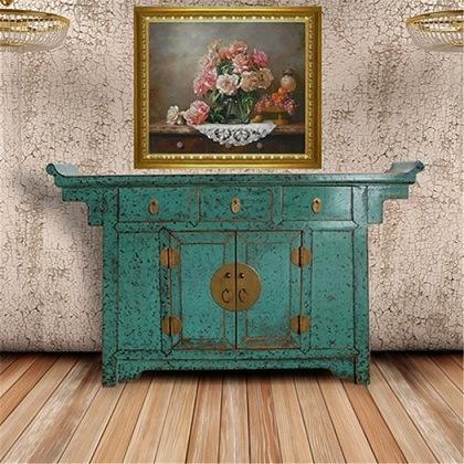 Module chinois de c t de meubles antiques art 015 for Meuble antique chinois