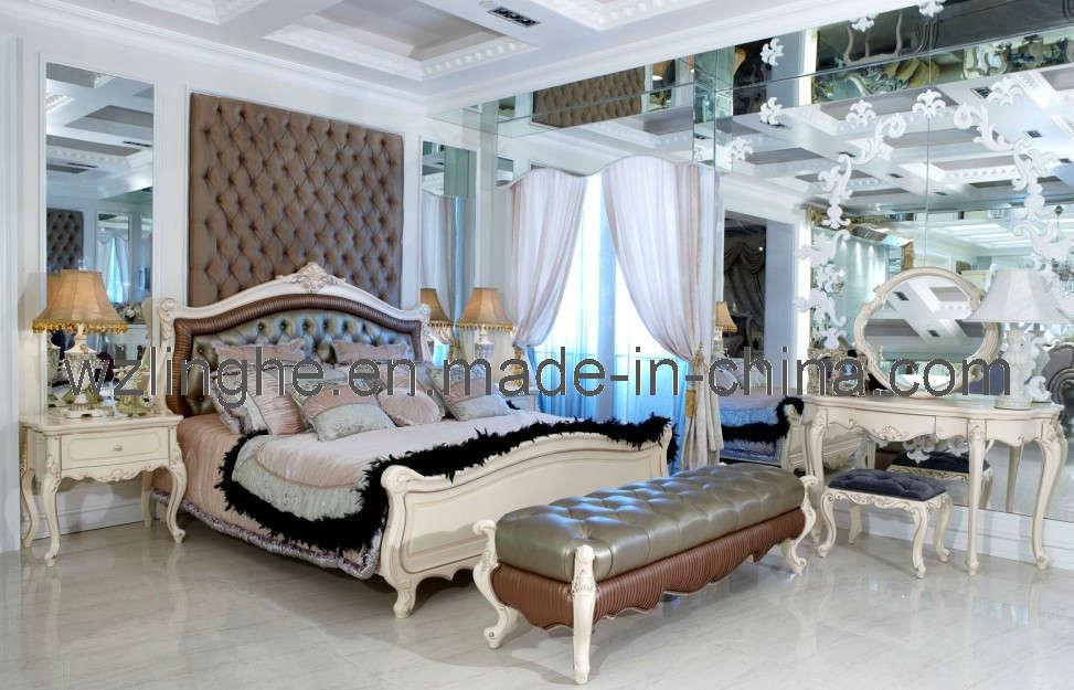 Meubles classiques lh5102 de chambre coucher meubles for Commande chambre a coucher
