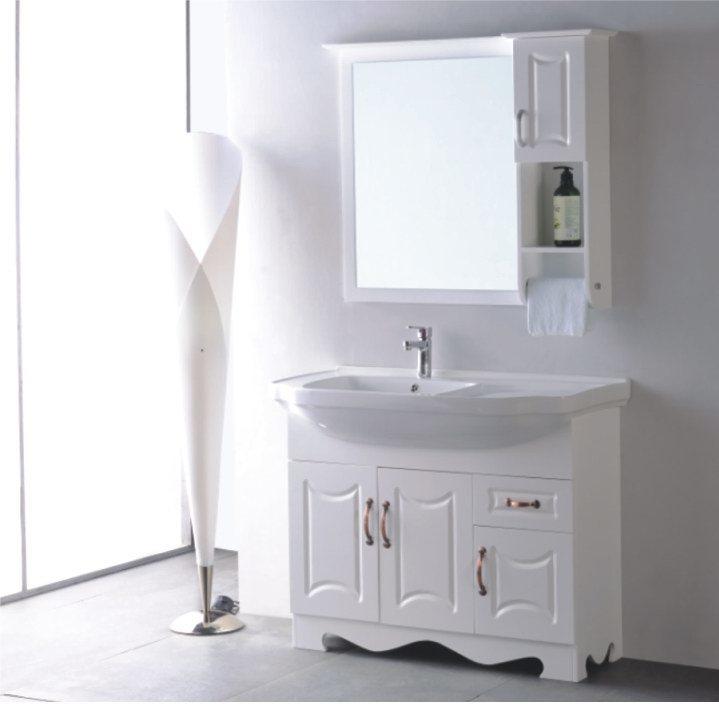Vaidade do banheiro do armário de banheiro do PVC (OSL8812) –Vaidade do banhe -> Armario Para Banheiro Pvc