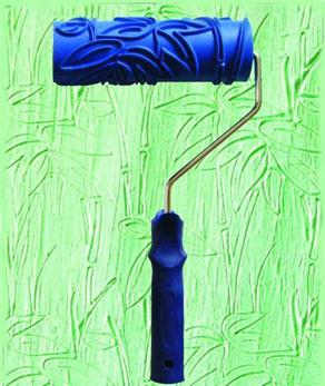 El color texturiz la pintura del rodillo de la emulsi n - Rodillos de pintura ...