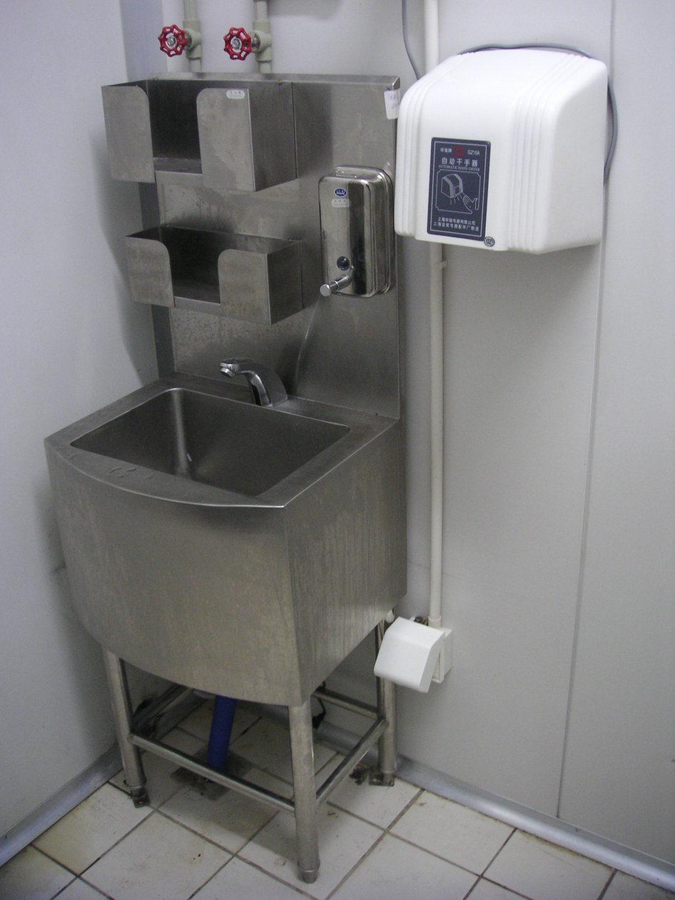 Fregadero y lavabo autom ticos comerciales de la colada de - Lavabo para cocina ...