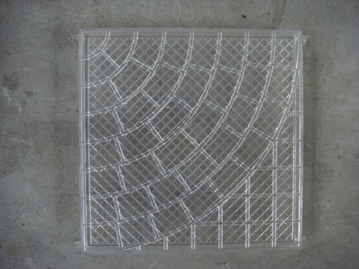 Molde del picosegundo para el azulejo de encaustic molde for Jardin chino alcantarilla