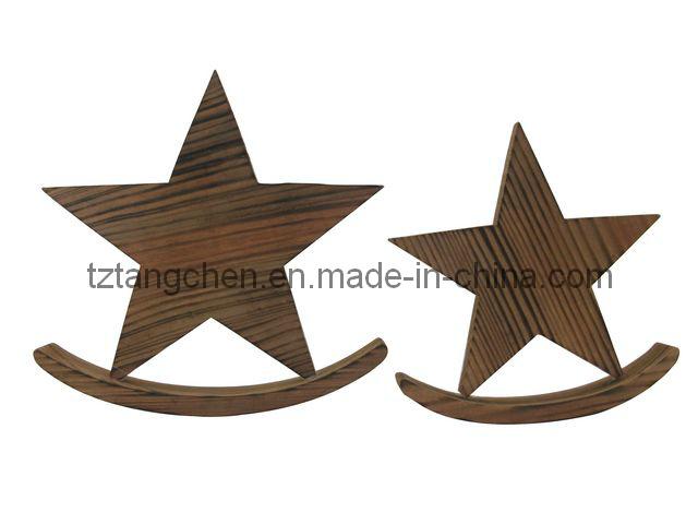 De houten decoratie van de ster tc 12171l de houten decoratie van de ster tc 12171l - Decoratie van de kamers van de meiden ...