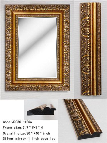 Trame en plastique en bois de miroir trame en plastique for Miroir en plastique