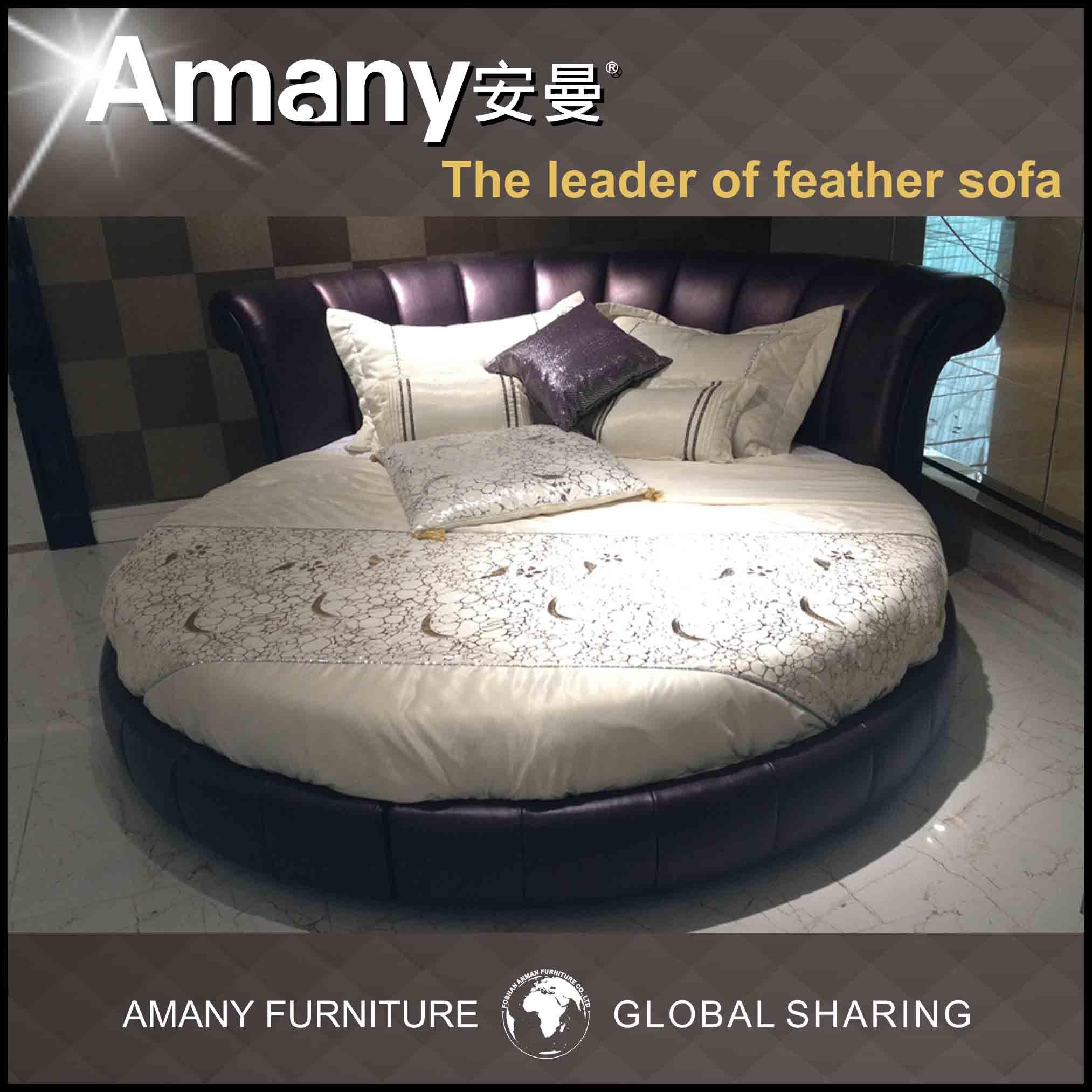 King size round bed (t1116p) –king size round bed (t1116p) fournis ...