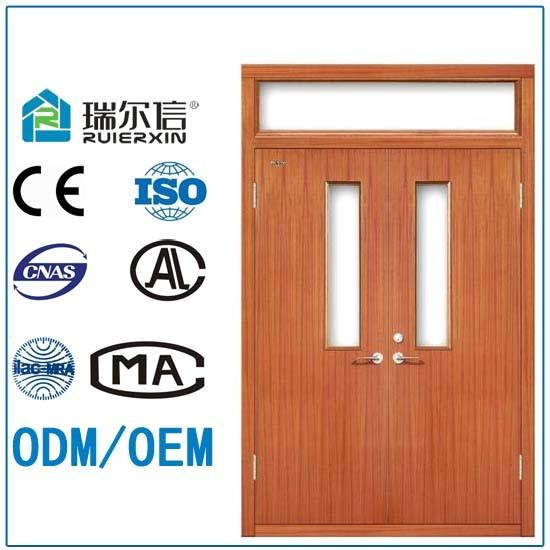 Puertas dobles clasificadas del nuevo fuego comercial de - Lo ultimo en puertas de interior ...