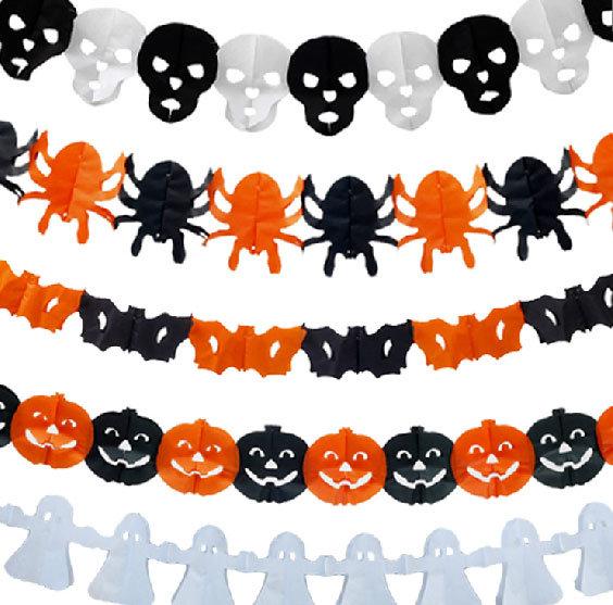 Гирлянды своими руками на хэллоуин