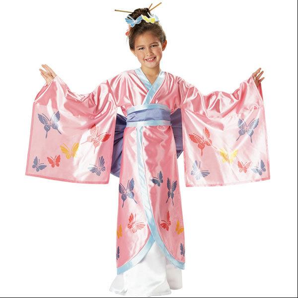Как своими руками сделать японский костюм