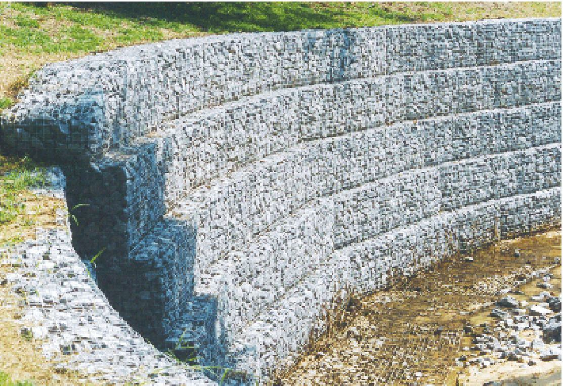 Gabions desertification Gabion wall design