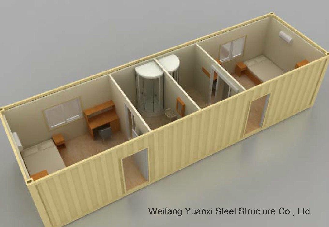 Container personalizzato house con 2 camere da letto e bathroom foto su it made in - Migliore esposizione casa ...