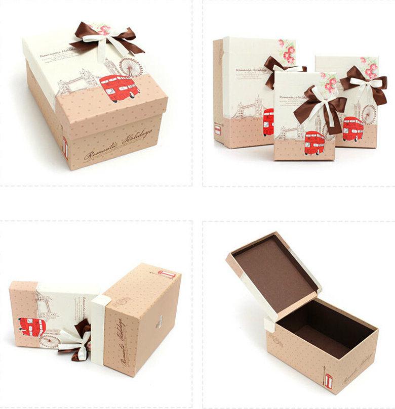 Коробки подарочные картонные