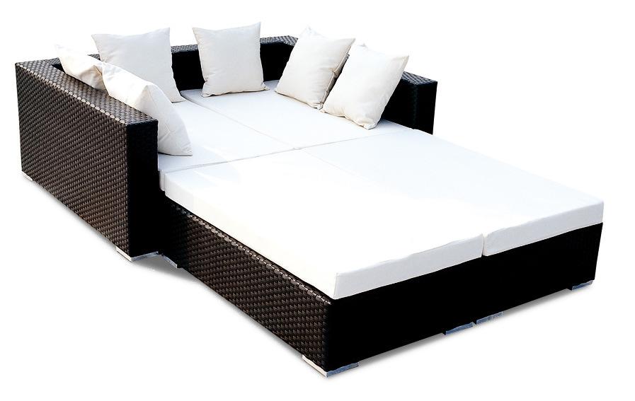 lit de sofa en osier de jardin de pe bz sf015 lit de. Black Bedroom Furniture Sets. Home Design Ideas