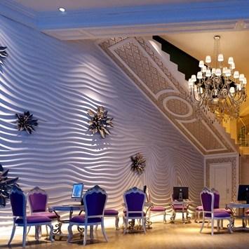 Het decoratieve zelfklevende 3d behang van de kunst van de muur het decoratieve zelfklevende - Nachtclub decoratie ...