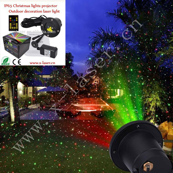 Clairage ext rieur d 39 horizontal de couleur de la lumi re for Eclairage de noel exterieur laser