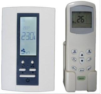 Termostato verticale della bobina del ventilatore di for Ventilatore verticale