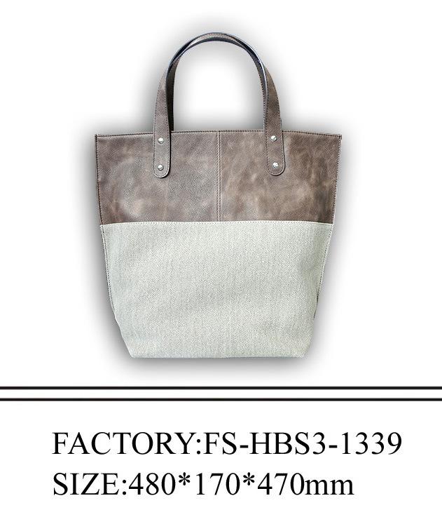 sac d 39 emballage fait en cuir d 39 unit centrale et toile. Black Bedroom Furniture Sets. Home Design Ideas