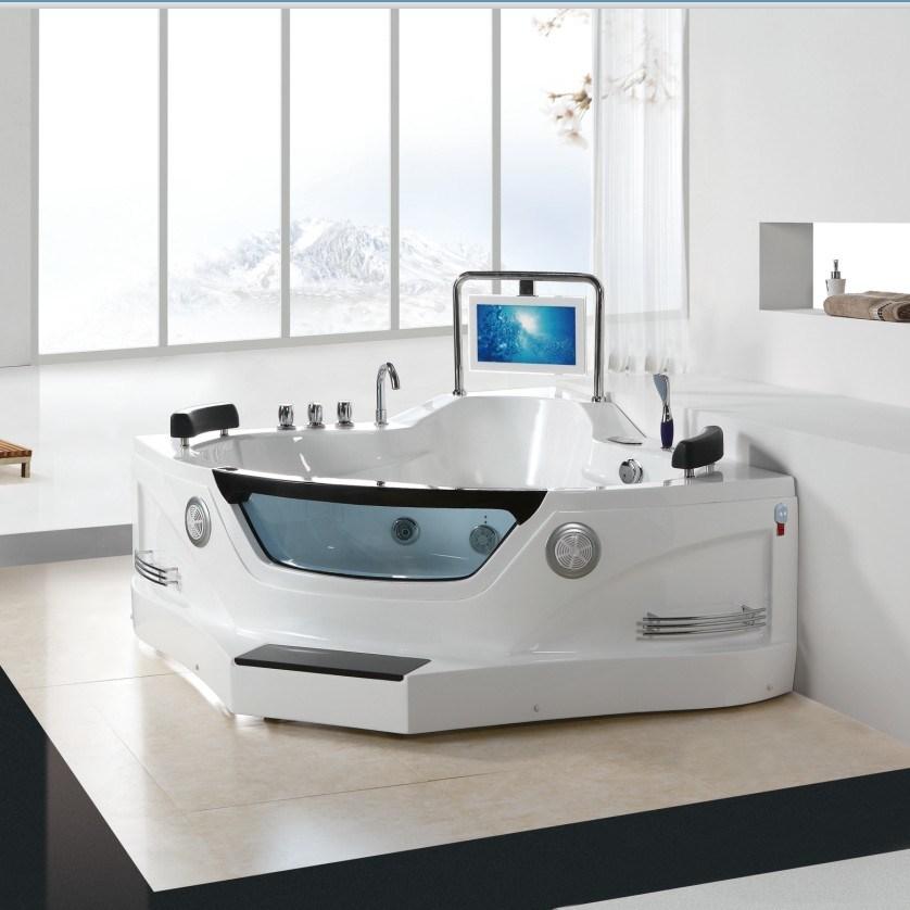 Vasca da bagno acrilica di lusso di massaggio della bolla - Vasche da bagno di lusso ...