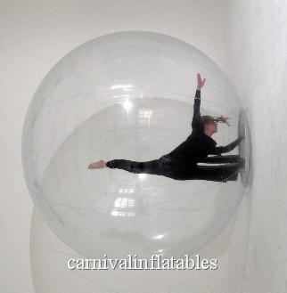 Boule transparente gonflable de danse de boule de la boule - Boule gonflable transparente ...