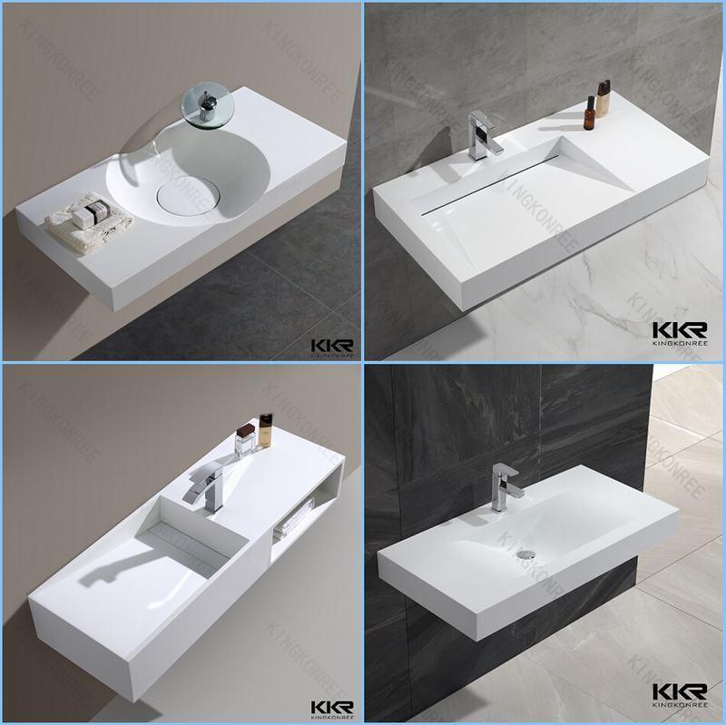Bassin ext rieur plein acrylique en pierre artificiel de for Lavabo exterieur