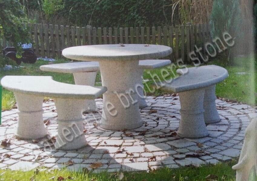 Vector al aire libre del banco de parque del jard n del for Bancos de granito para jardin