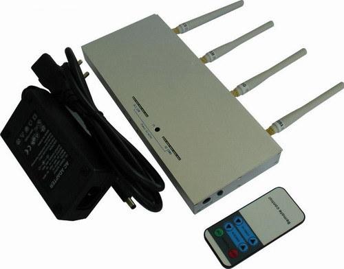 brouilleur de signal de portable avec la force t l commande 8 watts de puissance de sortie. Black Bedroom Furniture Sets. Home Design Ideas