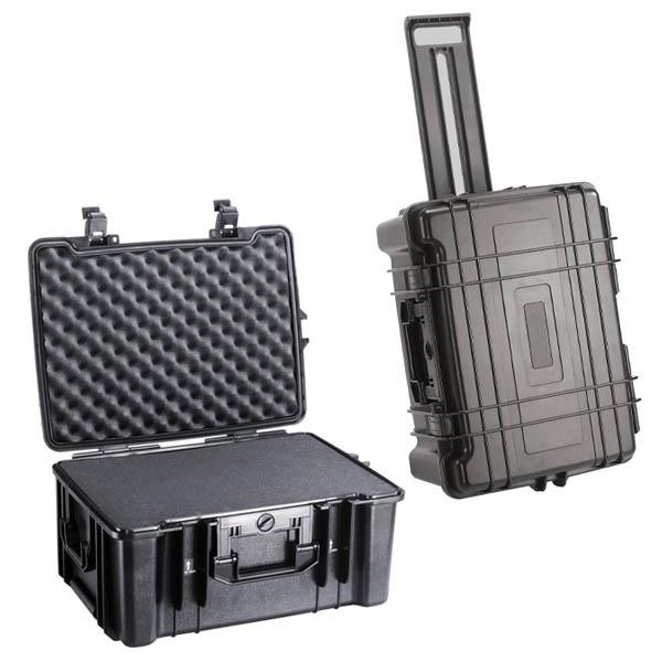 Caja dura del equipo con las ruedas epc5626w caja dura for Cajas plasticas con ruedas