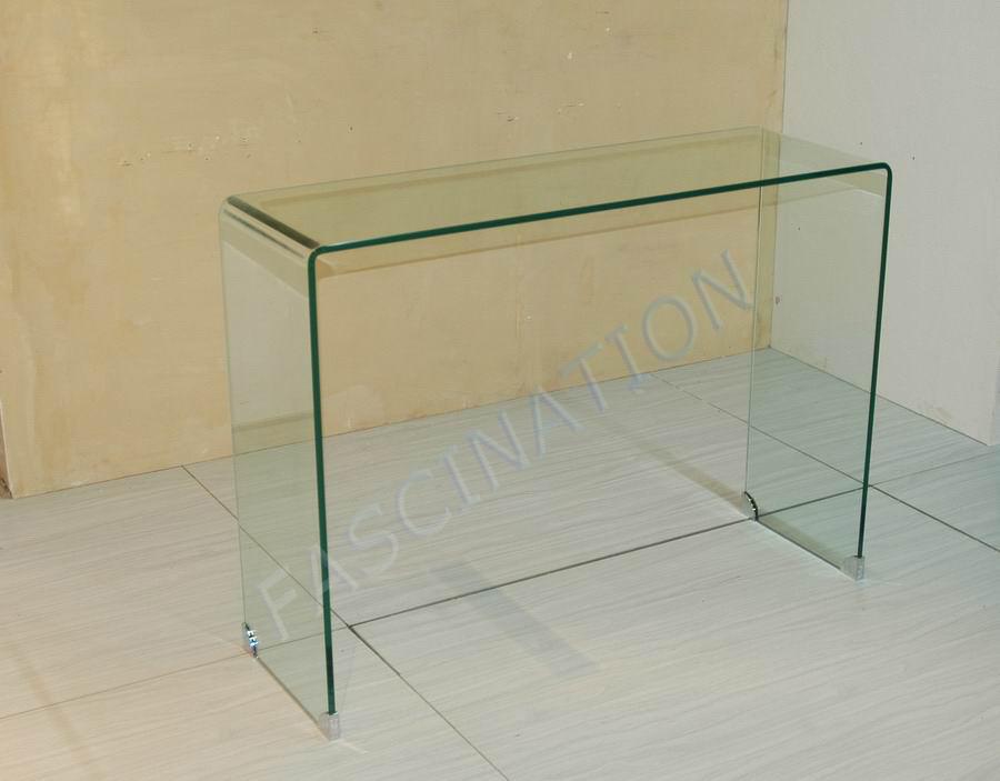 Het meubilair van het glas de lijst van de console van het glas x 010d het meubilair van - Meubilair van de ingang spiegel ...