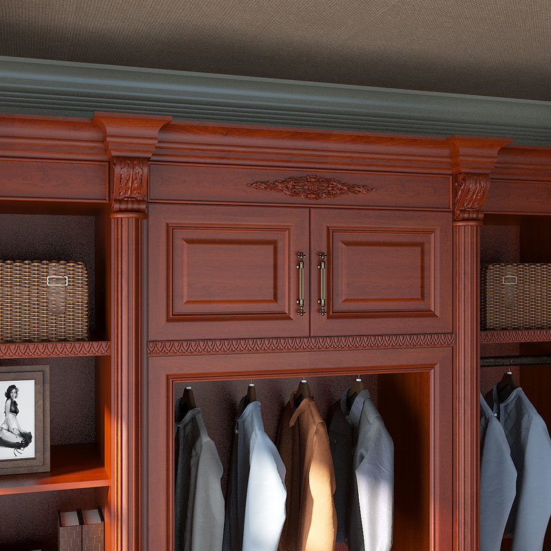 Foto de eco de madera de cerezo walk in closet yg15 for Closet madera precio