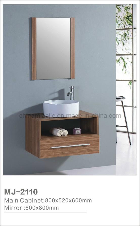 Muebles modernos del cuarto de ba o del mdf mj 2110 - Muebles para cuarto de bano ...
