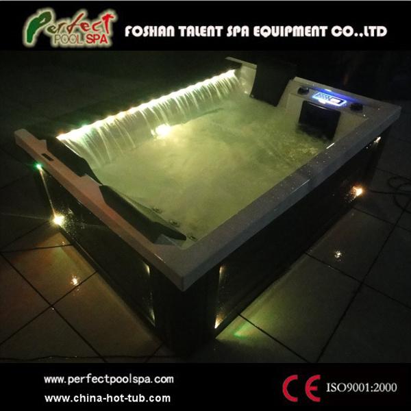 Spa jacuzzi exterior cheap tropical pool raised spa ho - Jacuzzi de exterior ...