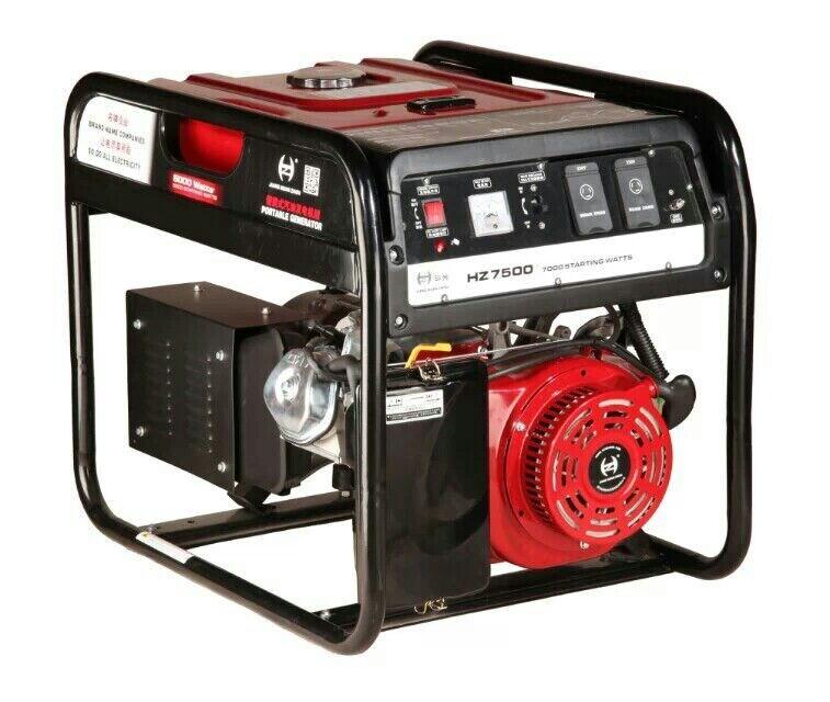 Foto de generador portable casero 5kw 220v precio - Generador electrico precios ...