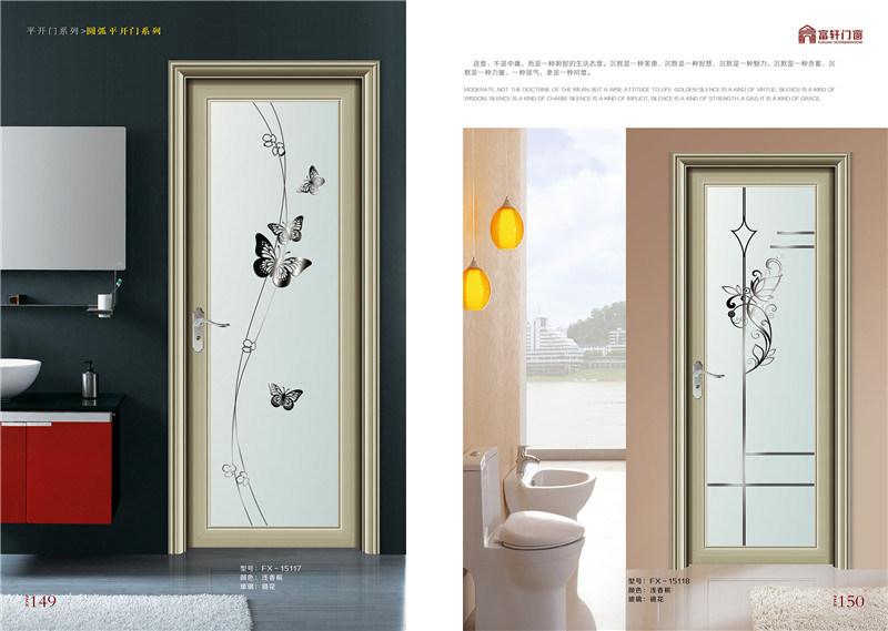 Foto de nueva puerta de oscilaci n de aluminio del dise o for Puertas diseno italiano