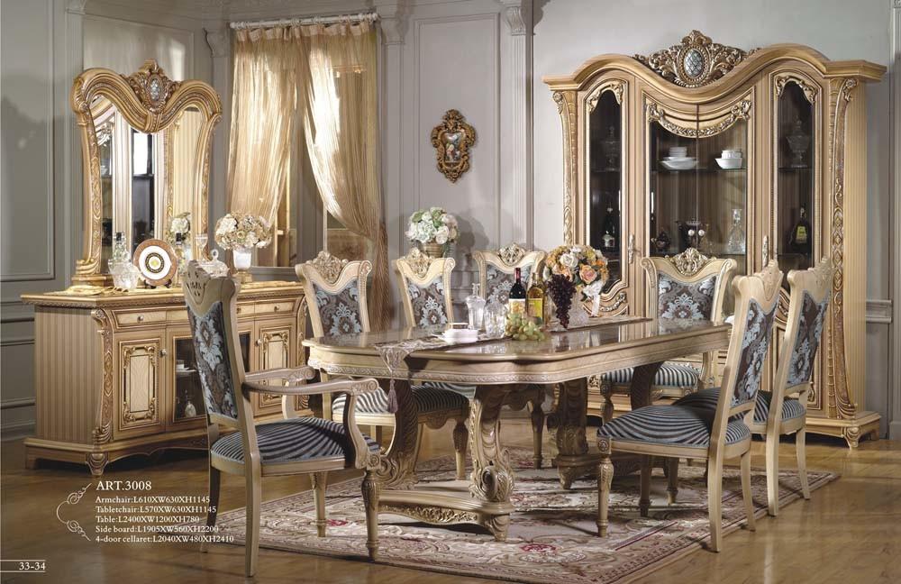 Mobilia classica sala da pranzo 3008 mobilia classica sala da pranzo 3008 fornito - Sala da pranzo classica ...