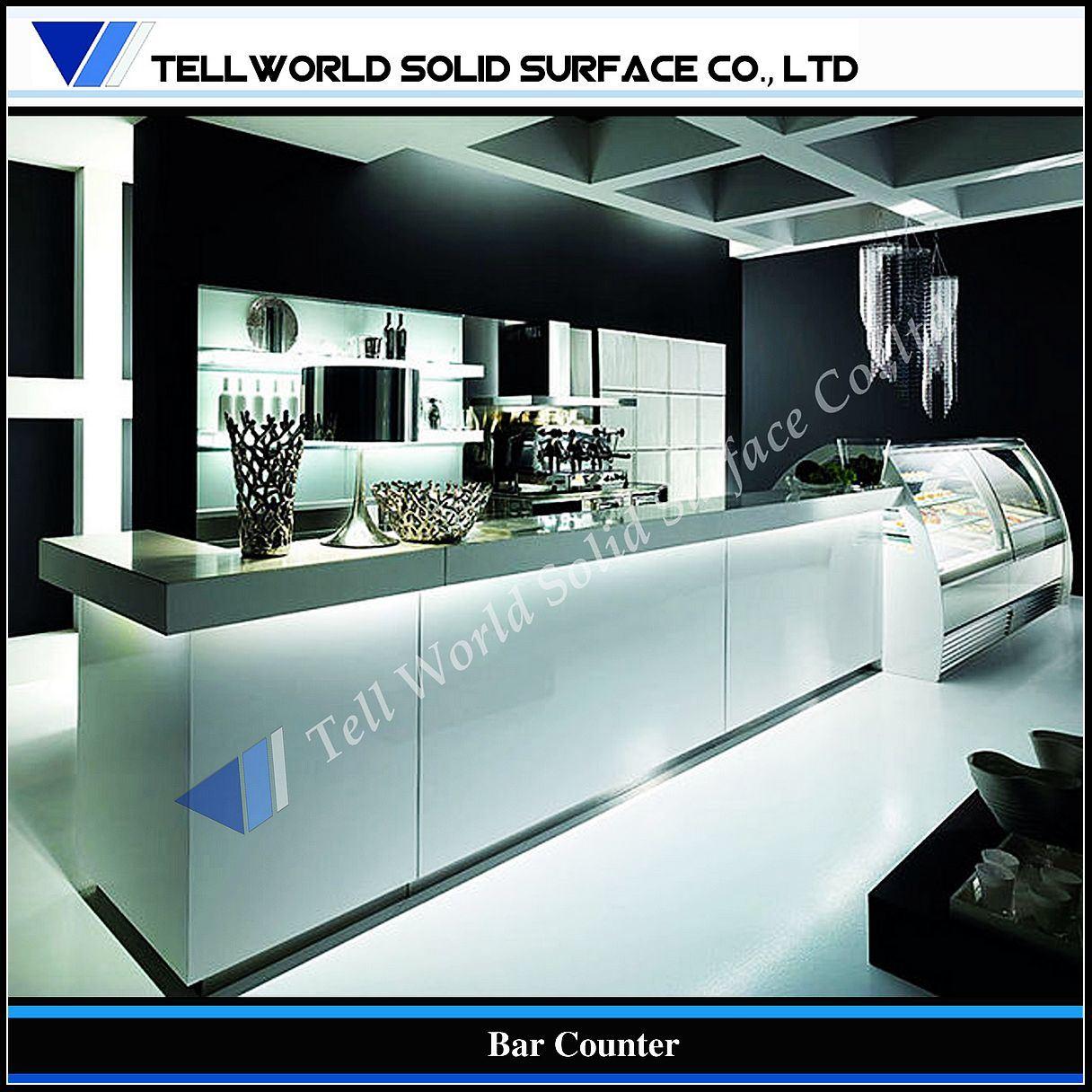 Foto de los muebles modernos led de la barra del caf adornaron la barra contraria tw mact 009 - Fotos de bares modernos ...