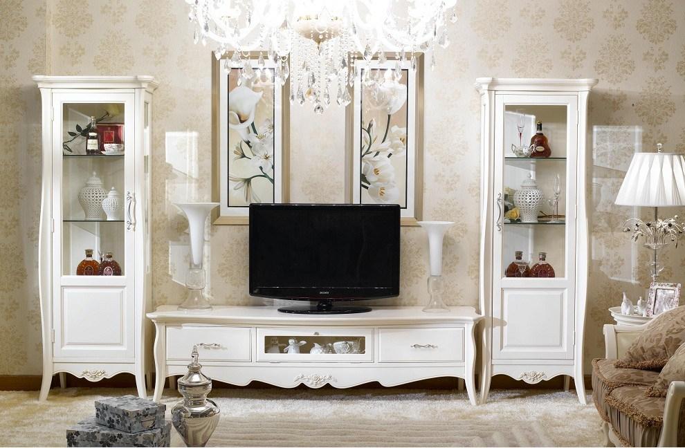Muebles franceses del sistema de sala de estar del estilo (BJH322