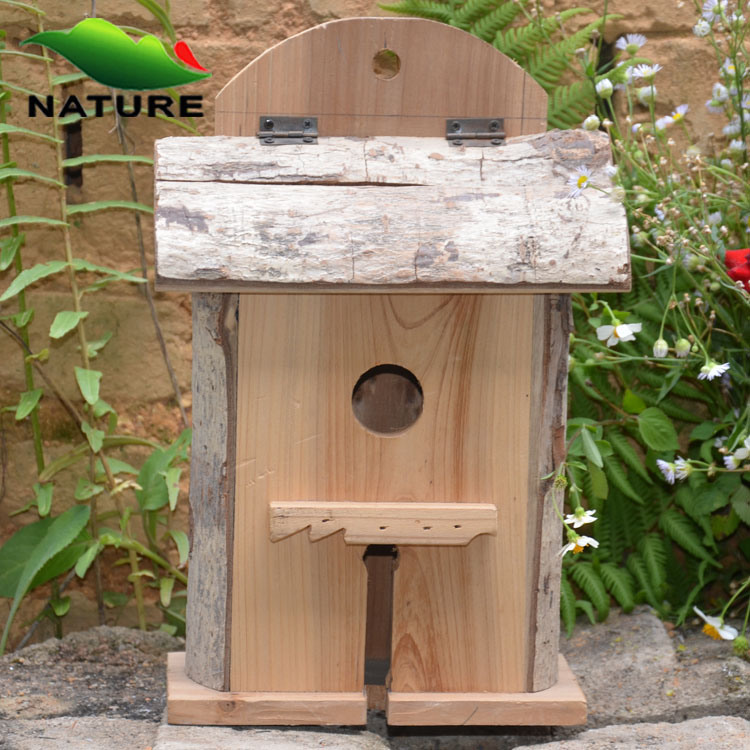 Kooi van de vogel van de decoratie van het huis de houten huis voor tuin kooi van de vogel - Decoratie kooi ...